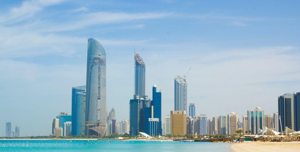 And explore the stunning Corniche stretch