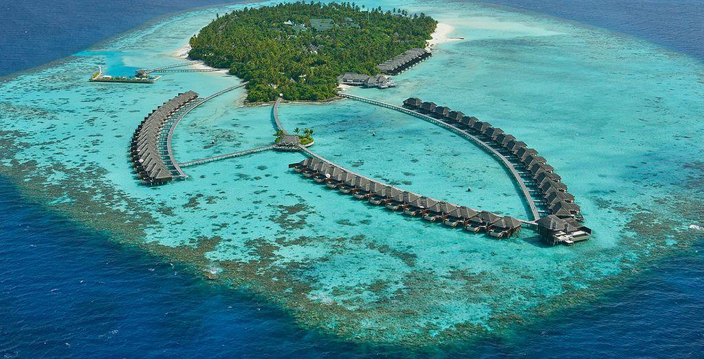 At the Ayada Maldives