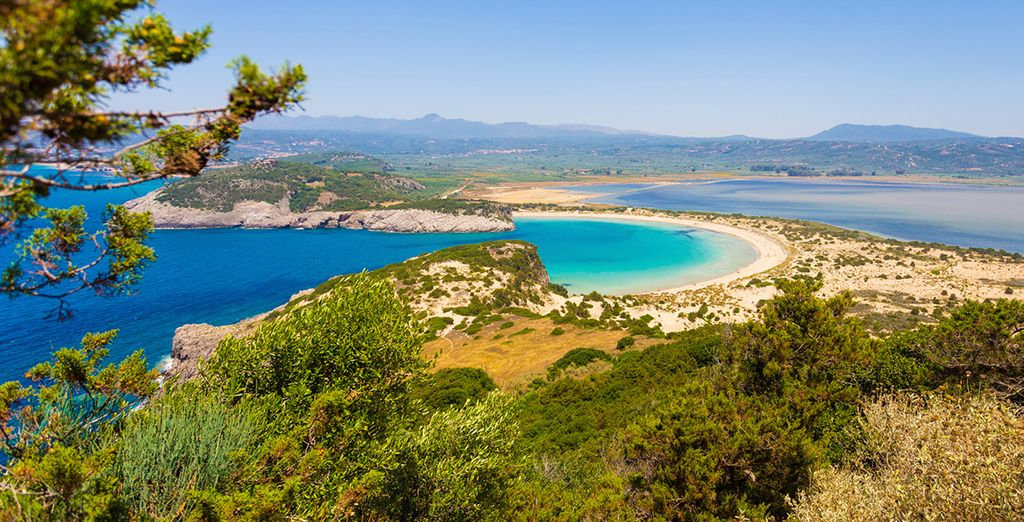 Head into the beauty of the Peloponnese