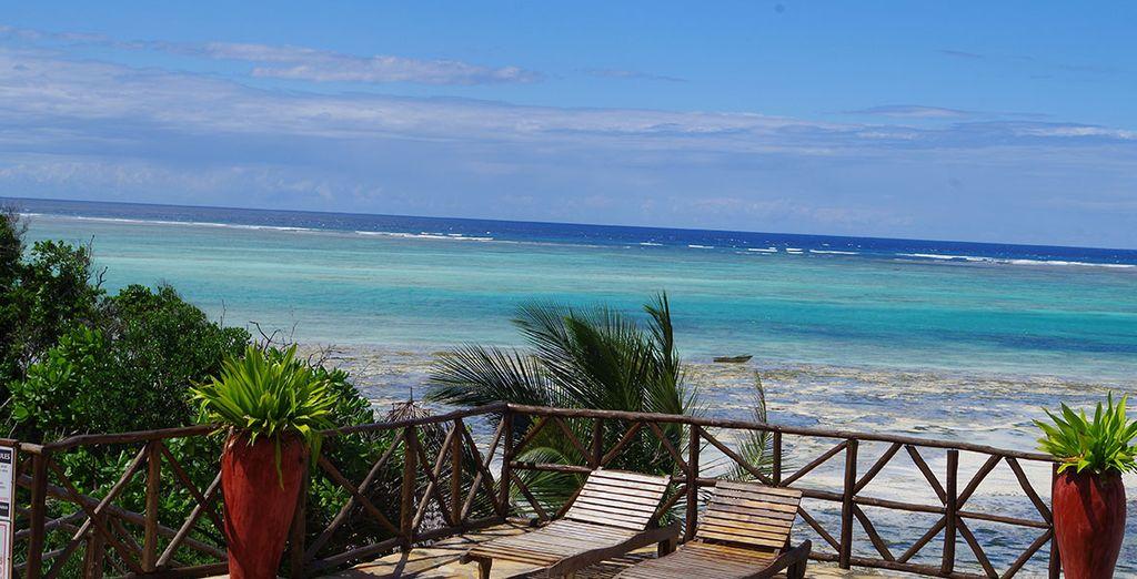 A remote resort awaits...