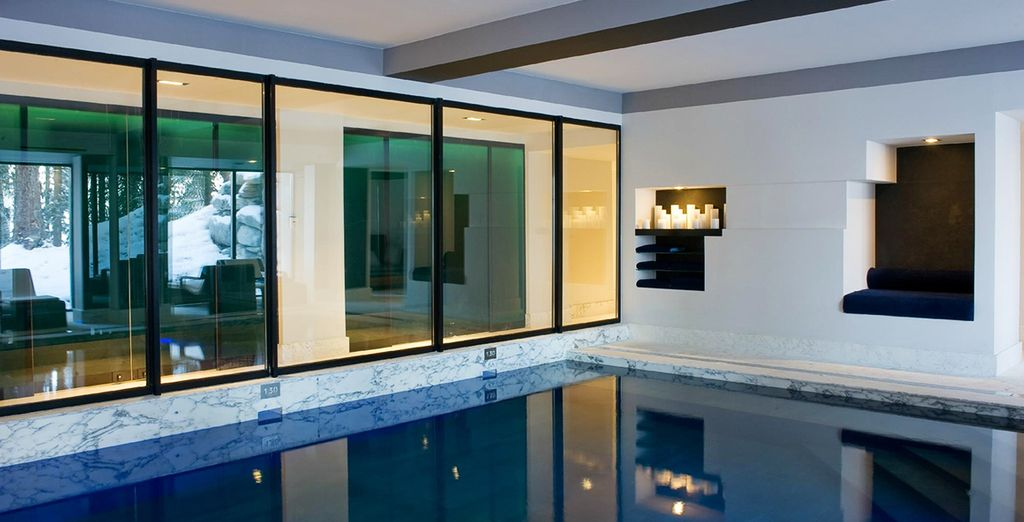 Or unwind in the indoor heated pool