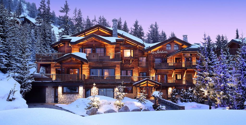 Indulge in a boutique French chalet