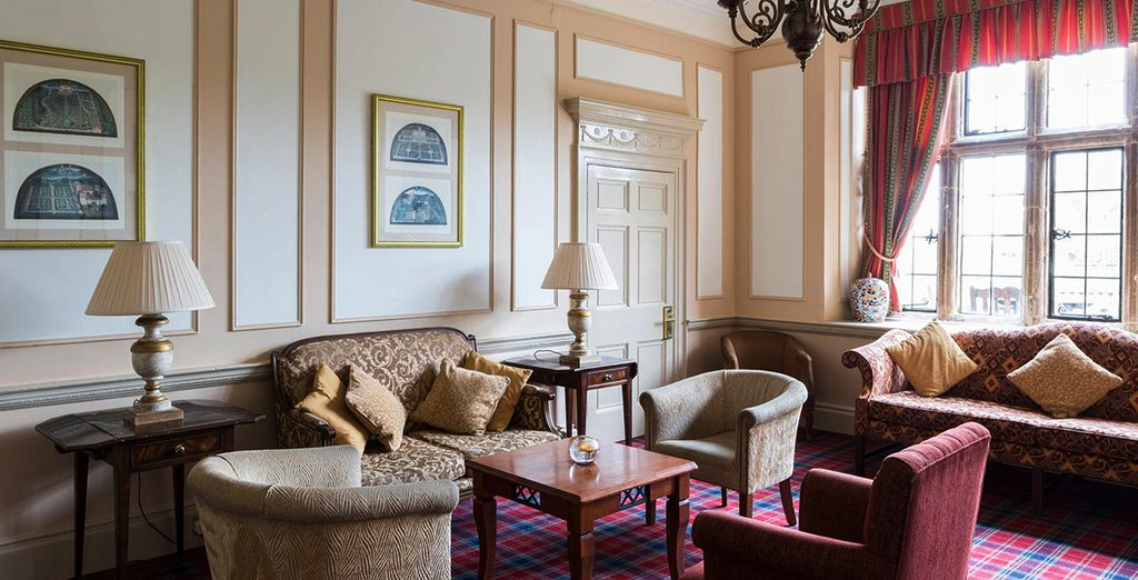 Relax in the hotel's drawing room