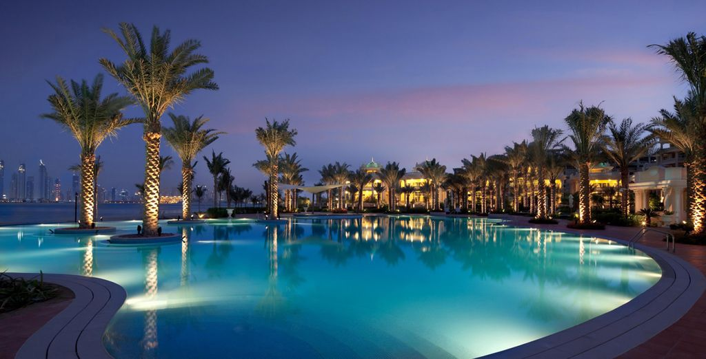 Or dip your toes into pure Arabian luxury