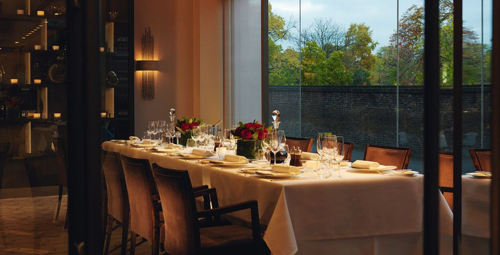 In the evening, try out the hotel's variety of different dining areas