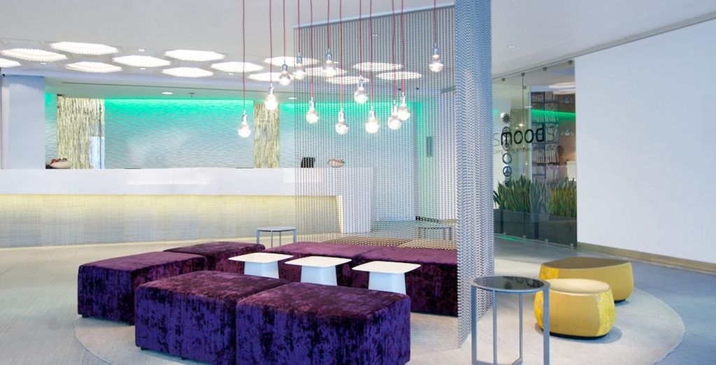 A unique modern hotel