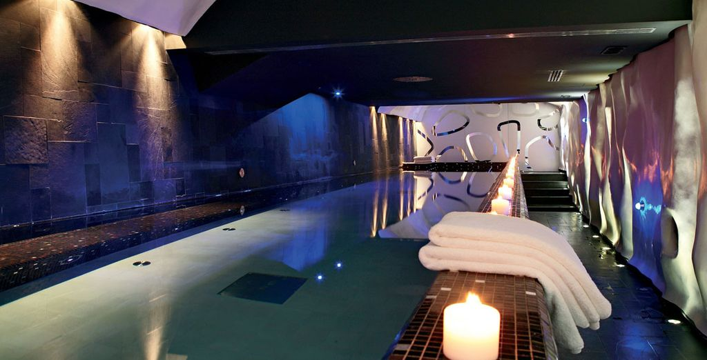 At the serene hotel spa, where you have an exclusive discount