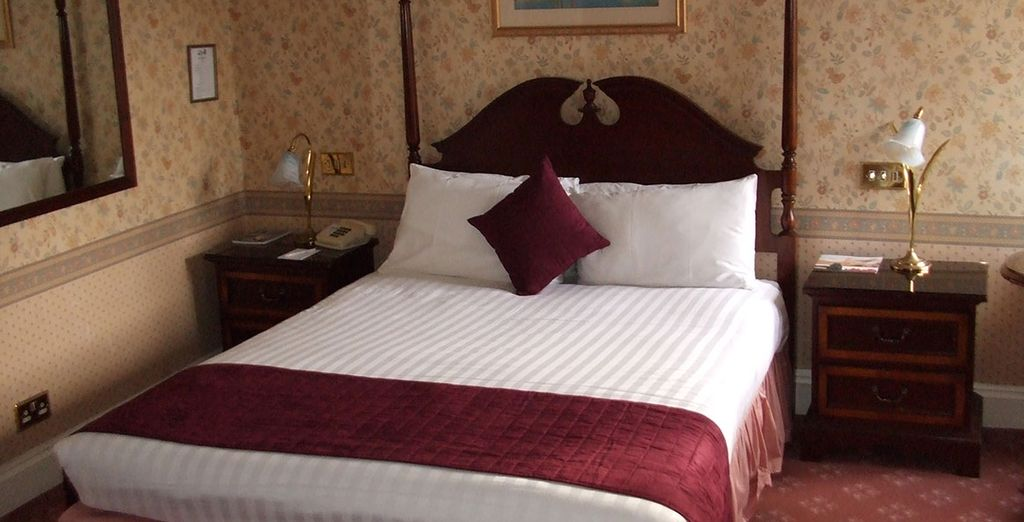 Take your pick between a cosy Standard Double Room