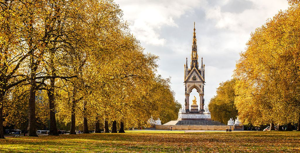 And the pretty Kensington Gardens
