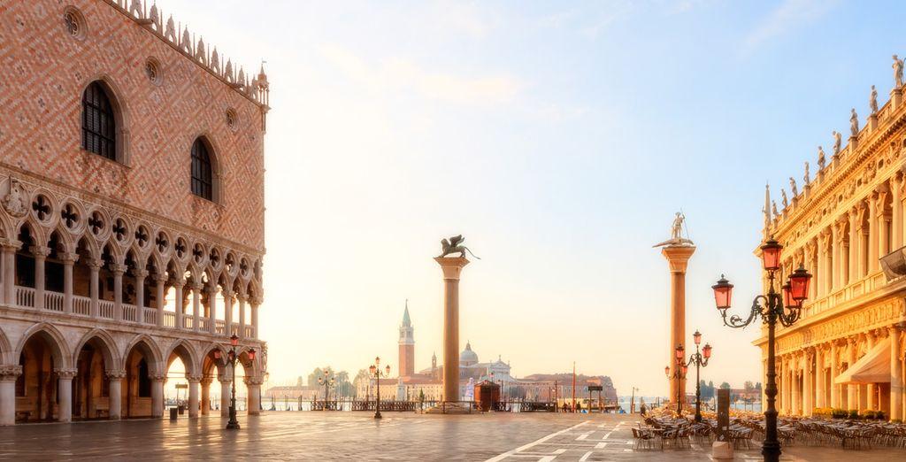 In beautiful Venice