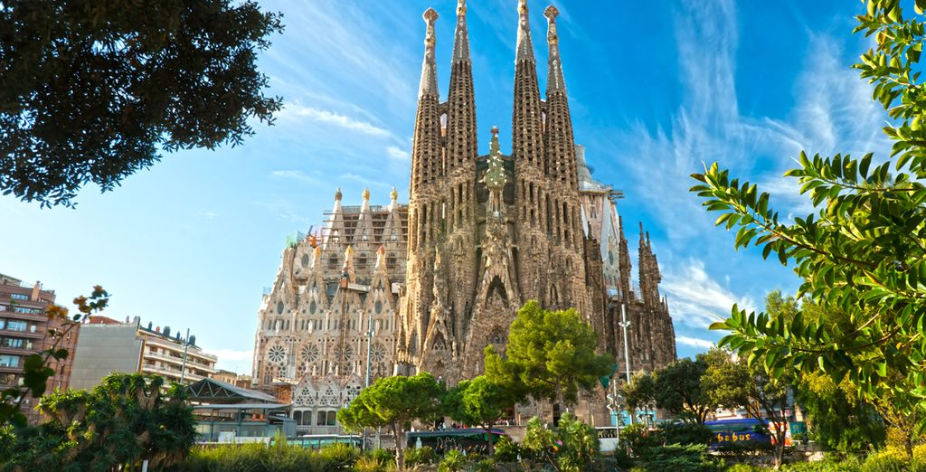 Such as the famous Sagrada Familia