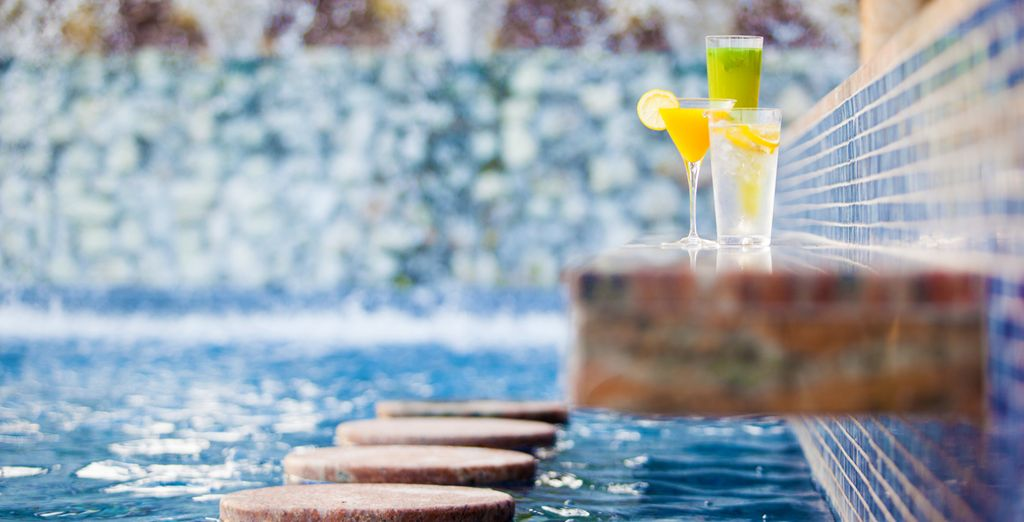 Sip a cocktail in the pool