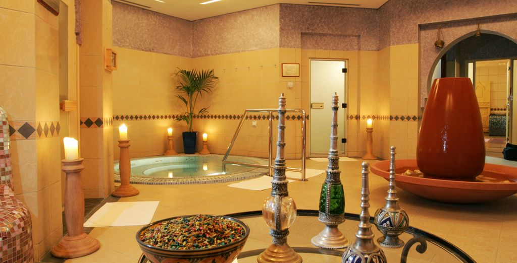 Indulge in a relaxing spa treatment