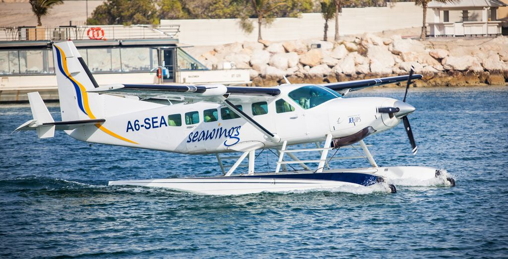 Experience Dubai like never before from a spectacular Seawings flight