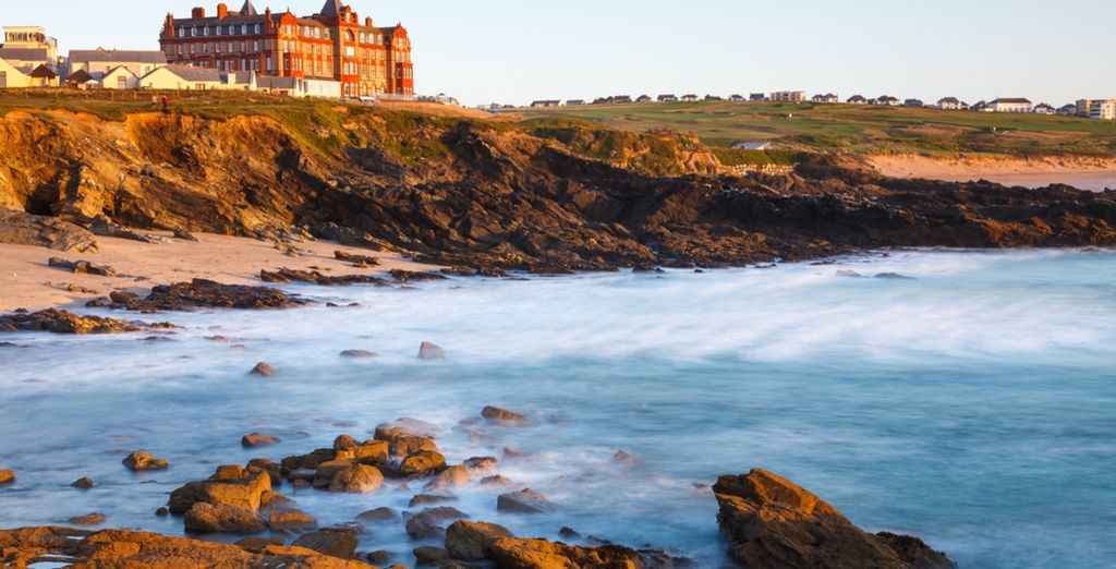 Revel in a unique experience on Fistral Bay