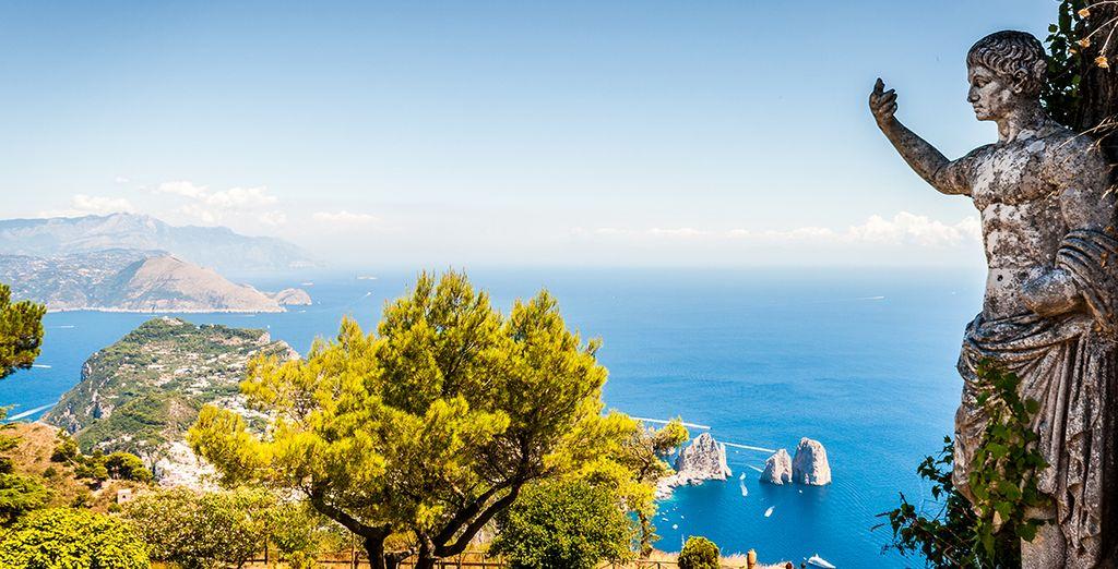 Explore the beauty of Capri