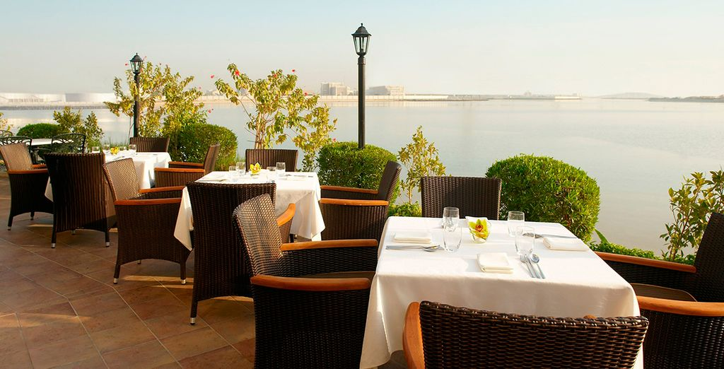 There are numerous dining options at the hotel, from Thai to Italian