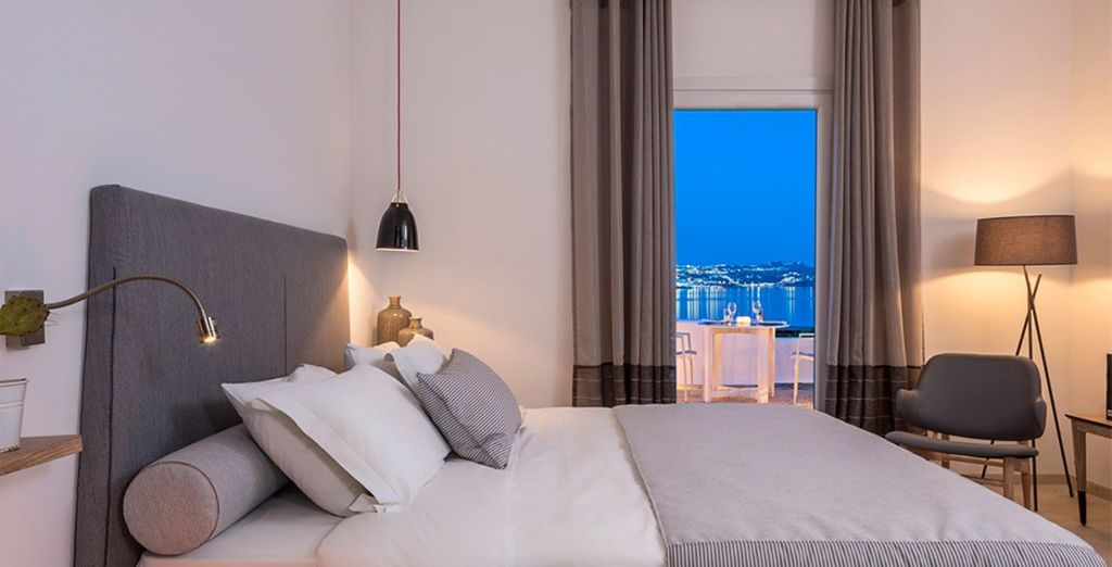 Or a Junior Suite with Sea View