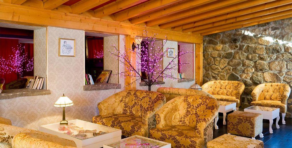 Decorated in cosy Alpine style