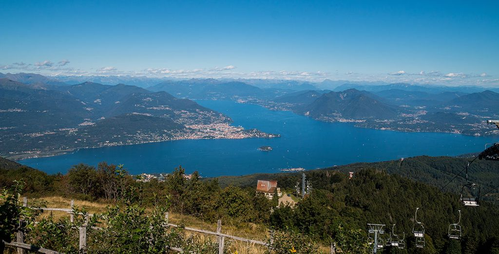 Follow the Ossola Valley as it's ascends through the Alps away from Lake Maggiore and to the Simplon Pass