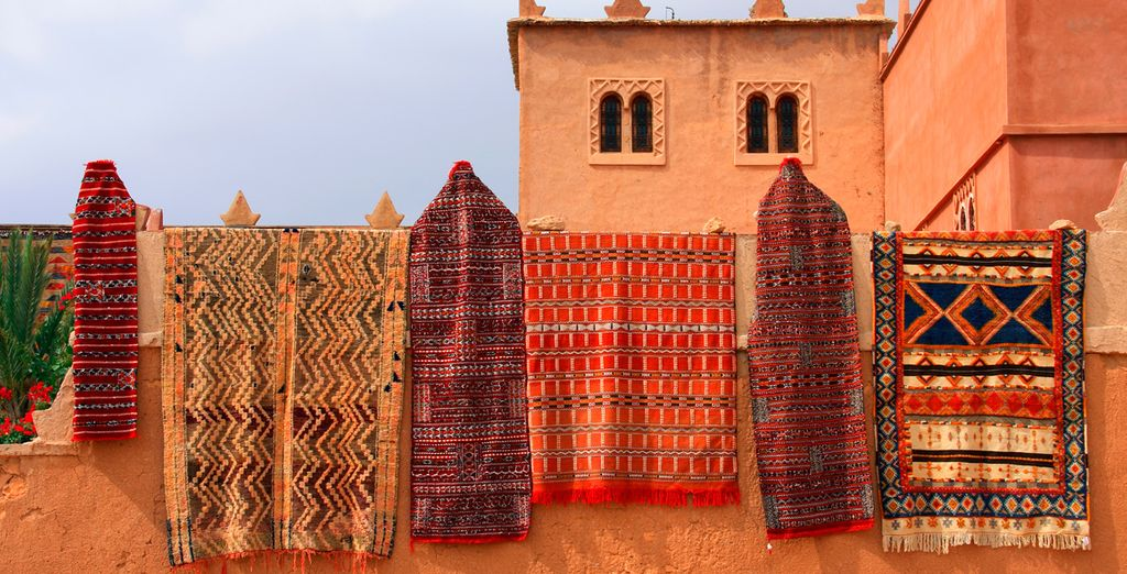 Escape from the bustle of Marrakech