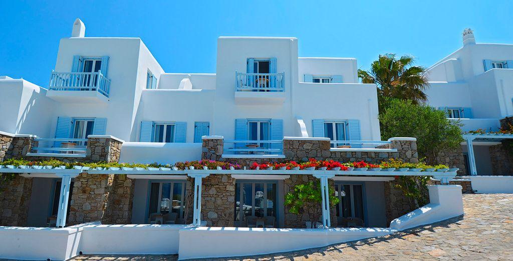 Relish the laidback island life at the 5* Saint John Hotel Villas & Spa