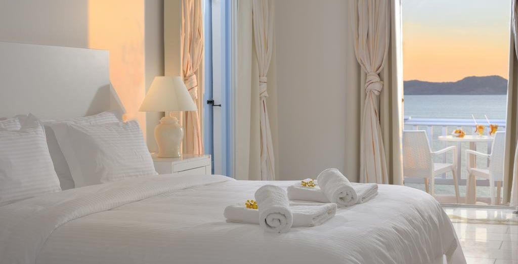 Where our members can enjoy a Sea View Room...