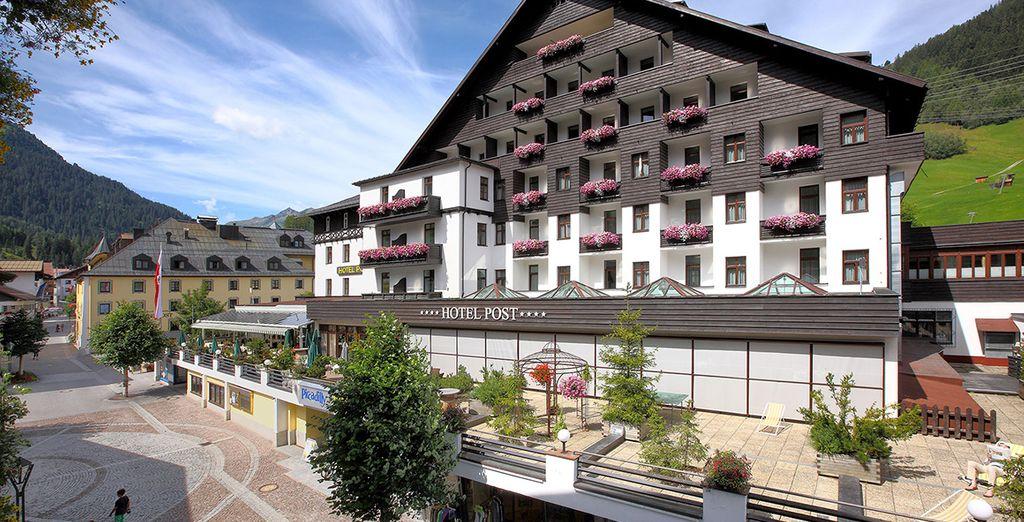 Hotel Post St. Anton 4* - ski in april