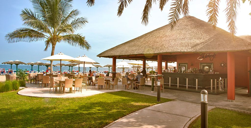 Enjoy the sunshine delights of the Fujairah Rotana Resort & Spa