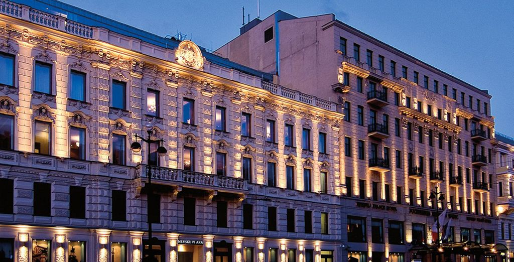 You stay in the 5* Grand Corinthia Hotel - Corinthia Hotel St Petersburg 5* St Petersburg