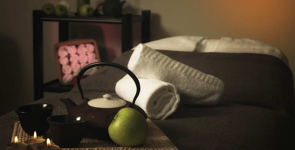 You may prefer to head to the spa to escape the heat of the day