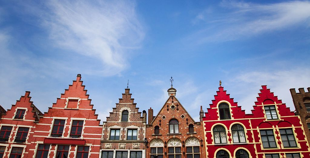 Wander through the ecclectic architecture of Flanders