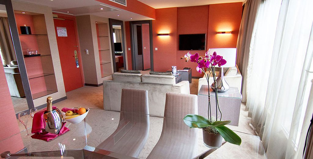 Allowing you to enjoy your stay in style!