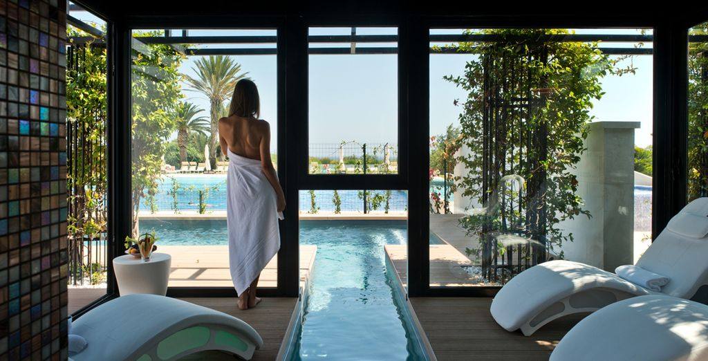 Or retreat to the wellness centre