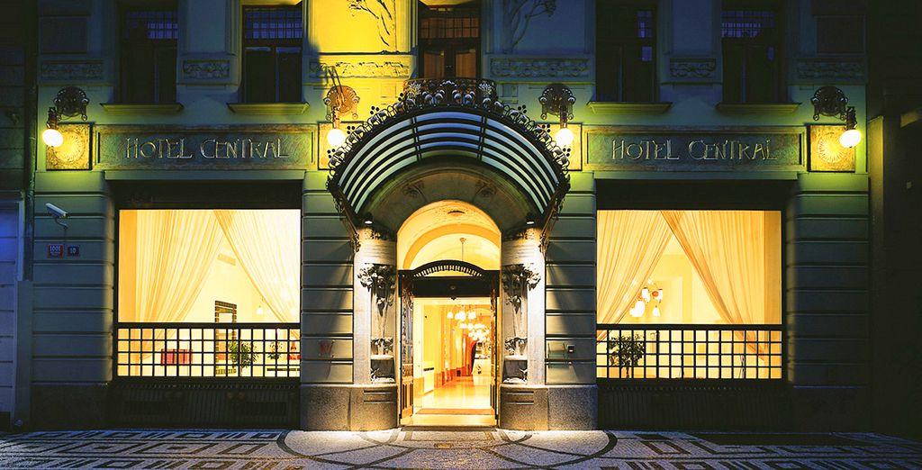 Art deco elegance - K+K Hotel Central 4* Prague