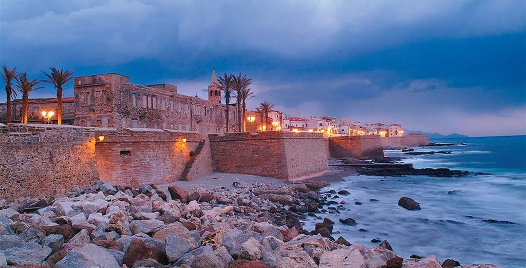 Just a 5 minute walk from Alghero's historic centre