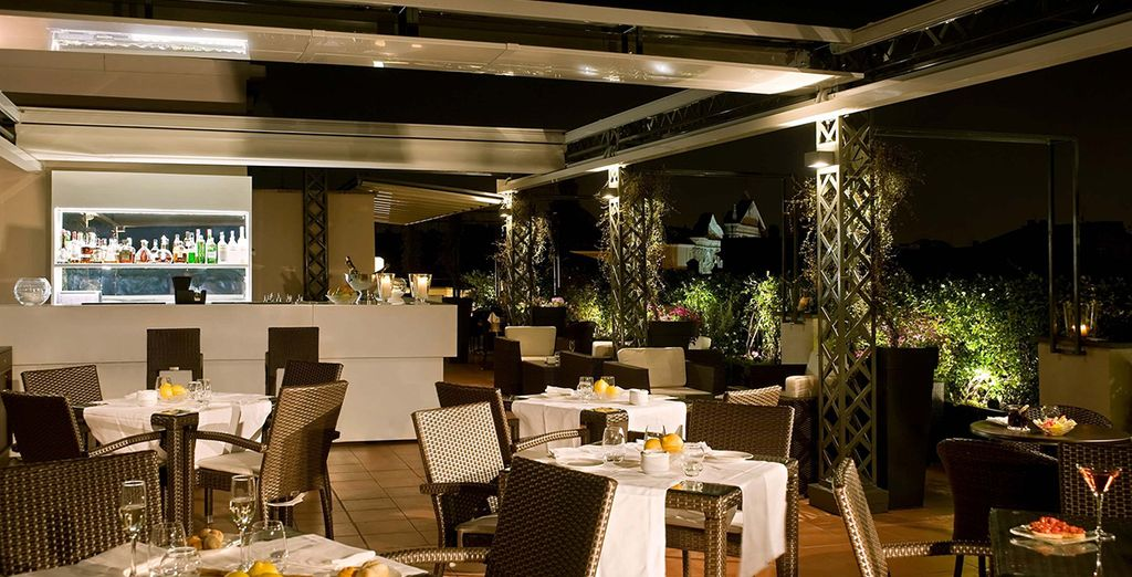 Indulge in culinary delights in the evening