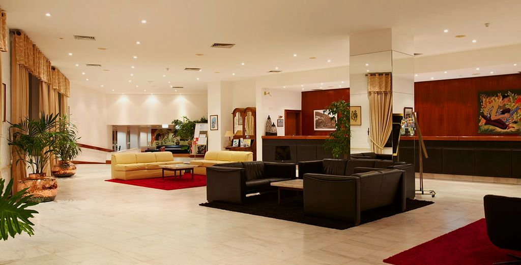 A stylish and spacious hotel