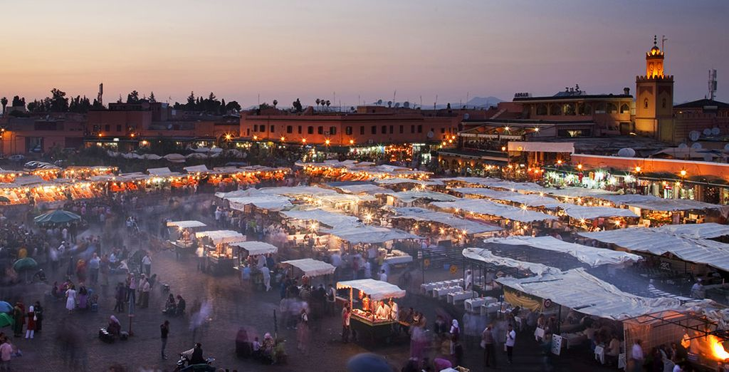 The enticing scents of Jemaa el Fna