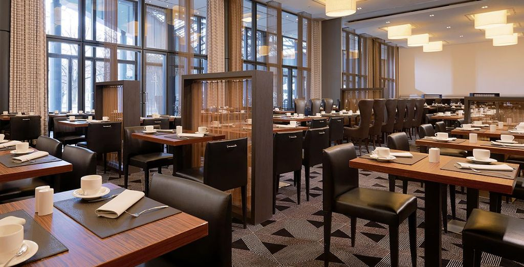 And enjoy an exclusive discount in the hotel's restaurant
