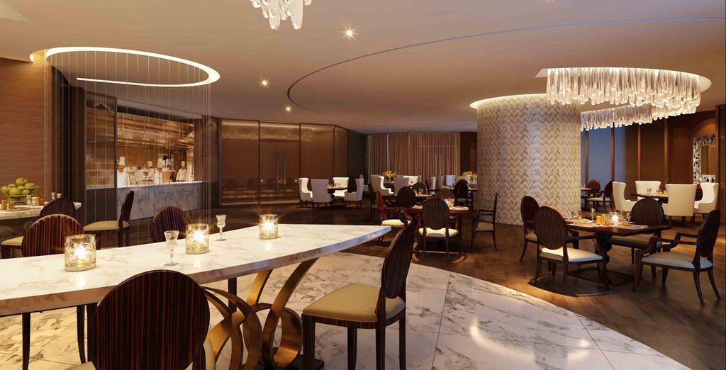 Served up in elegant restaurants