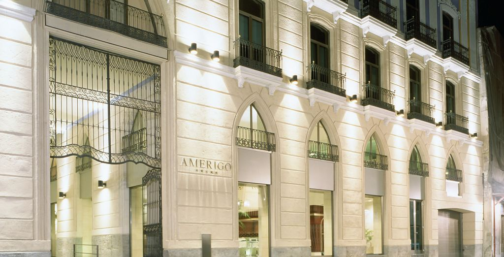 At the 5* Hospes Amerigo - Hotel Hospes Amerigo 5* Alicante
