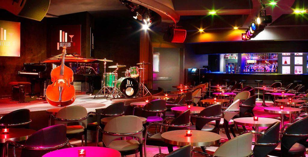 Such as the swanky Jazz Club!