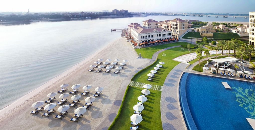 Welcome to the Ritz Carlton Abu Dhabi Grand Canal