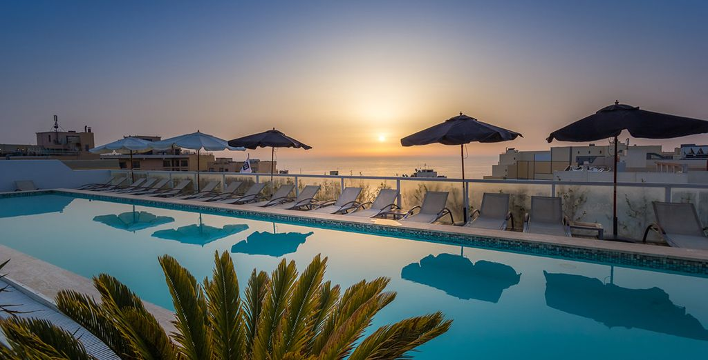 Indulge in a stylish Maltese break - The George Boutique Hotel 4* St Julian's