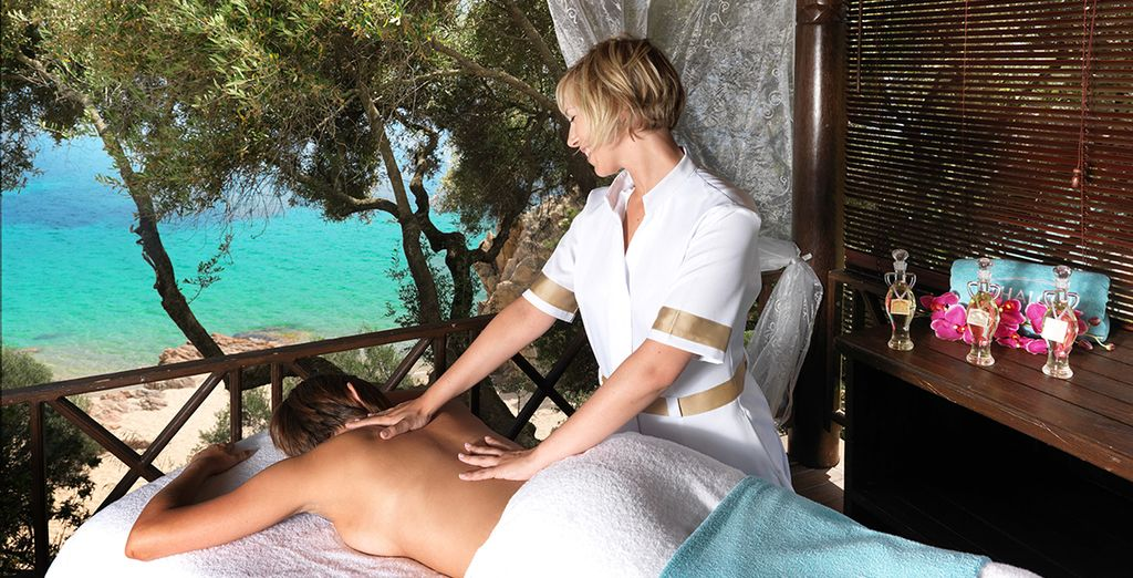 Or book an al fresco massage