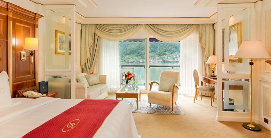 Or upgrade to a spacious Deluxe Room