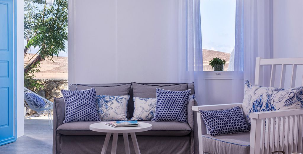 Unwind in your Superior Sea View Room