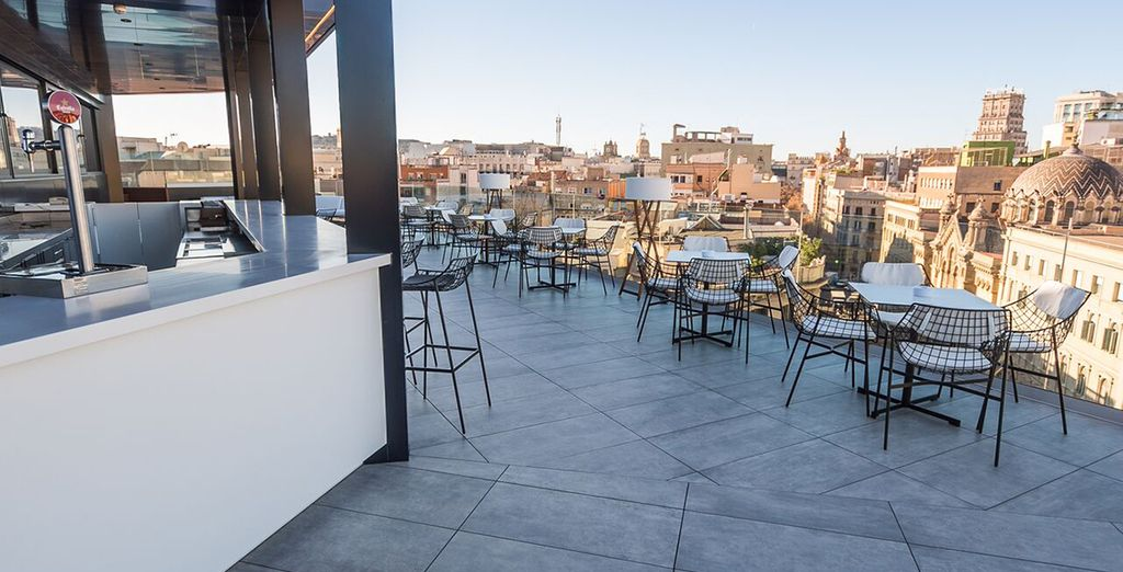 And a fantastic rooftop location