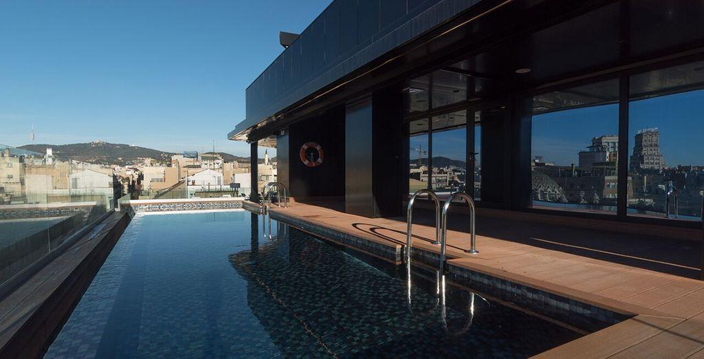 Enjoy sleek facilities